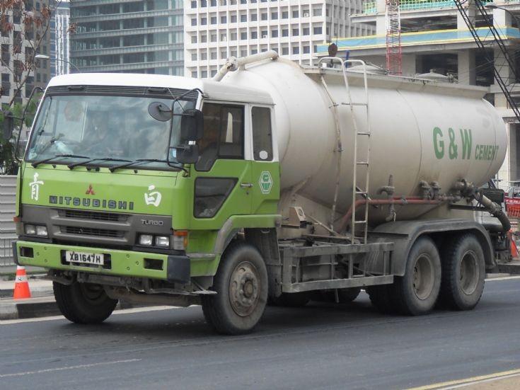 Mitsubishi Cement Plant : Truck photos g w cement pte ltd fu u mitsubishi fuso