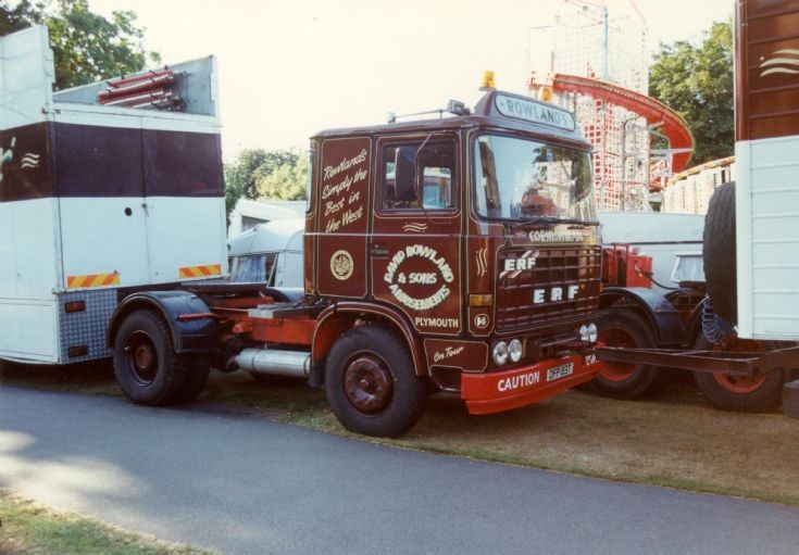 1978 ERF B series Tractor unit