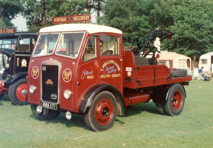 1950s Albion Breakdown Truck at Elvaston Castle