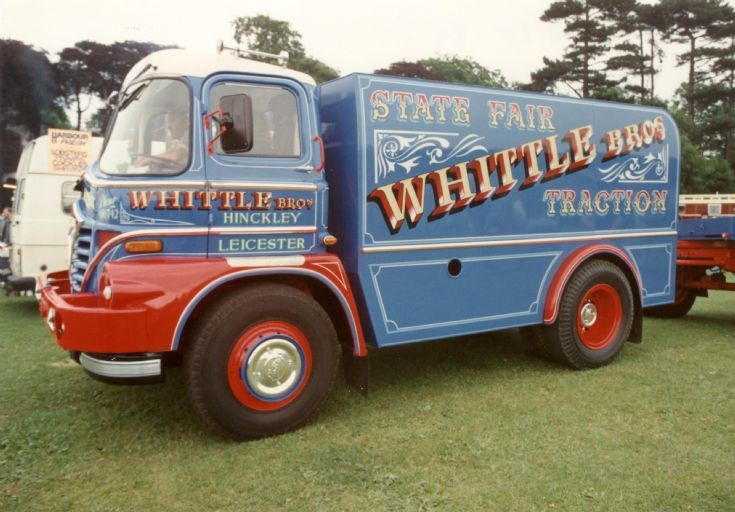 1960s Foden S21 Tractor / power plant - Whittle Brothers, Hinckley, Leicester