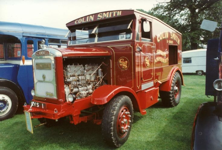 Scammell chain-drive 1940s
