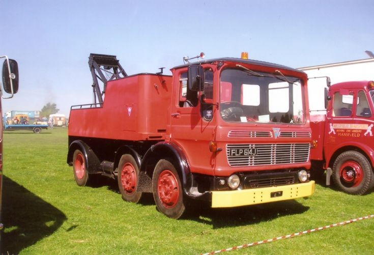 1971 AEC chinese six recovery