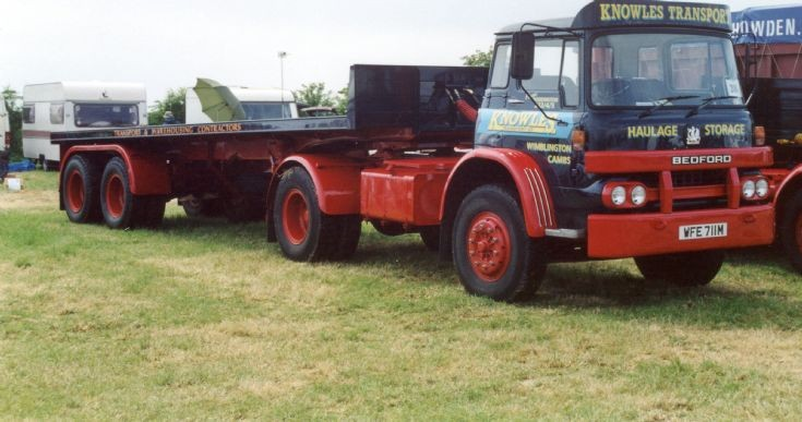 1974 Bedford KM Artic Knowles Haulage