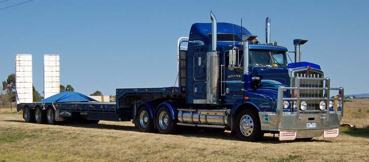 Millars Transport Kenworth T404ST