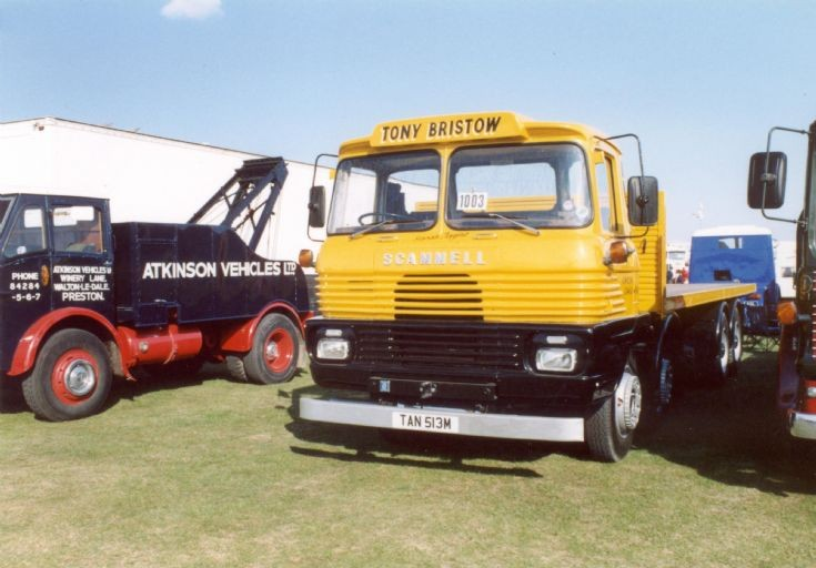 1974 Scammell Routeman flatbed - Tony Bristow