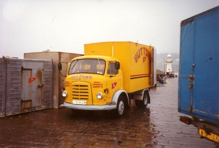 1973 Karrier Bantam Fish lorry