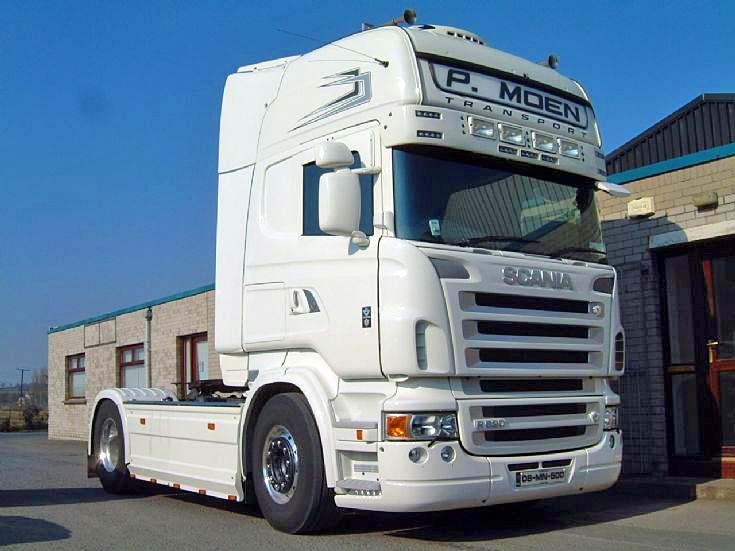 Scania R620 4x2 Topline, P. Moen Transport
