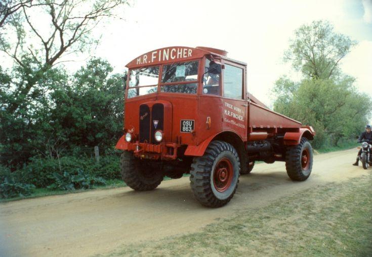 1940's AEC Matador timber tractor