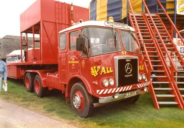 1973 'Wall of Death' Atkinson fairground truck