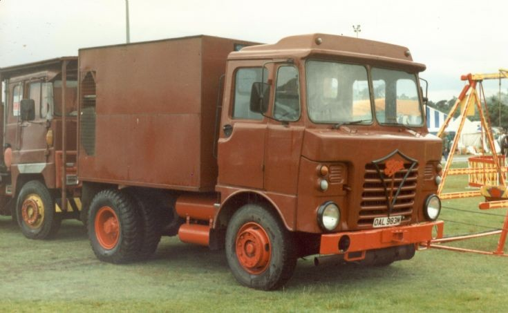 1974 FODEN S80  Showmans tractor
