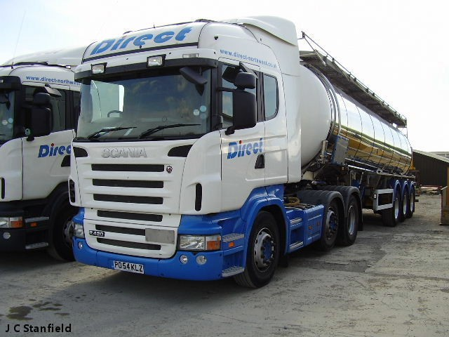 Direct North West Ltd Scania R420 Chemical Tanker based in Sandbach