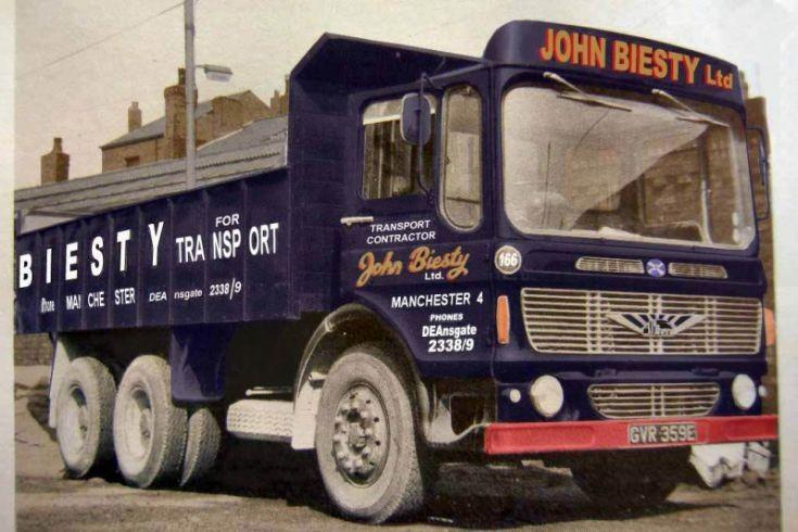 John Biessty Ltd Albion Riever Tipper, Manchester