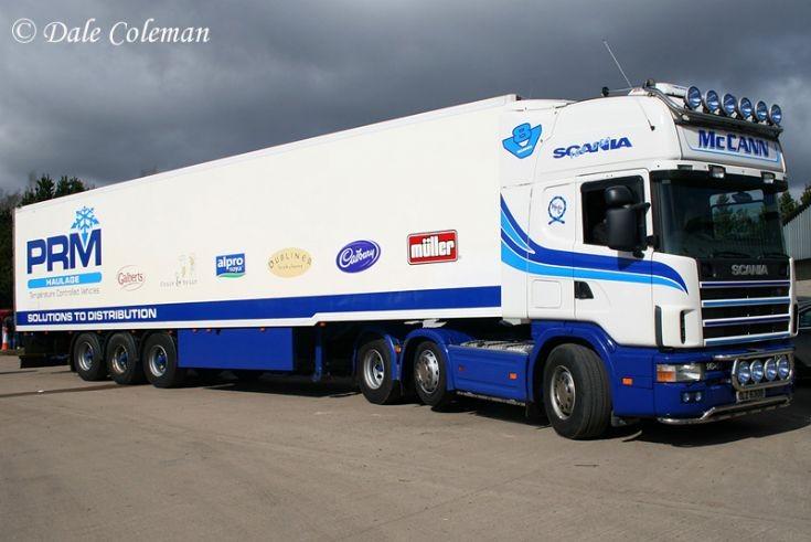 Scania R164 6x2/4 580 Topline, McCann