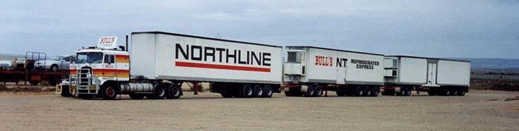 Australian 'Northline' Road Train