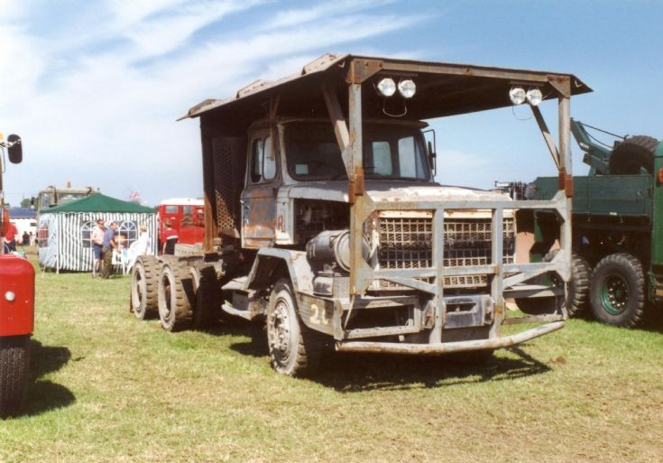 Scammell 6x4 from a diamond mine