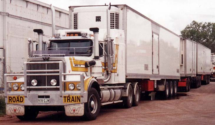 Australian Western Star Road Train