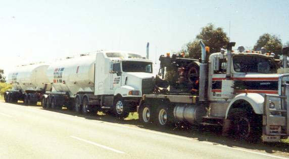 kenworth road trains
