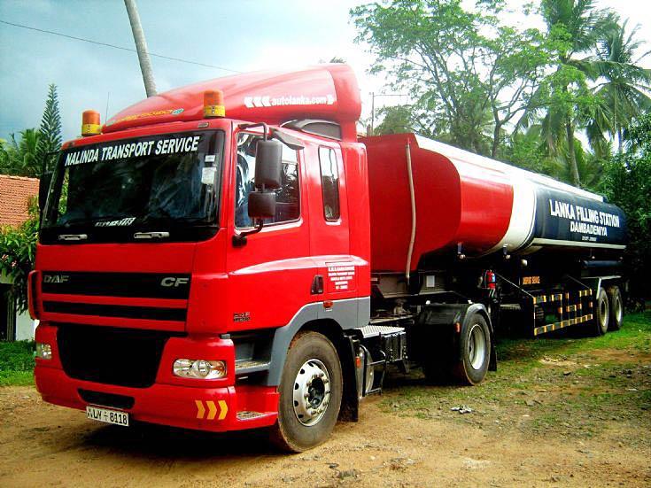DAF CF 85.380 Prime Mover with 33,000 Litre Fuel Tanker - Sri Lanka.