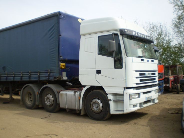 2001 IVECO Eurostar tractor unit