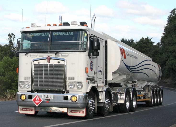 ChemGroup Transliquid Kenworth Quad Tanker