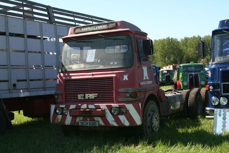1967 ERF A series 6x4 Castle Cement at Belvoir Castle Rally (ERF gathering) 2010
