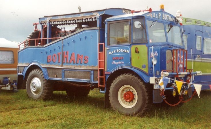 Bothams 1940 AEC circus truck