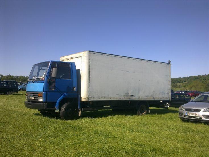 truck photos 1987 ford cargo 0813 box van at belvoir. Black Bedroom Furniture Sets. Home Design Ideas