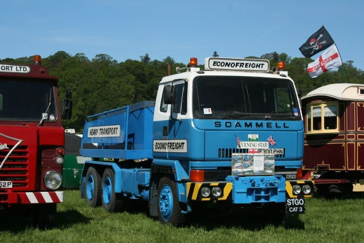 1988 Scammell S26 ballast tractor Econofraight