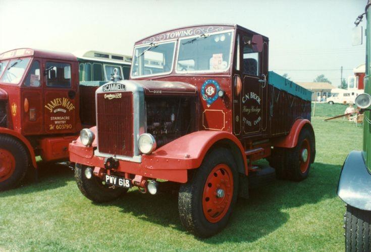 1950's Scammell Ballast tractor, Gardner powered