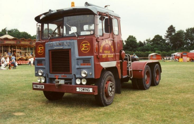 1974 Scammell Crusader 6x4 tractor unit
