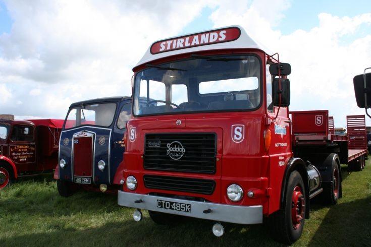 1972 Seddon Tractor unit at Carrington Rally 2010 - Sirlands