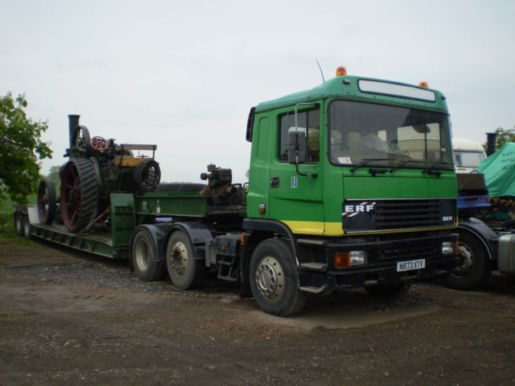 1995 ERF EC10 6x2 tractor unit