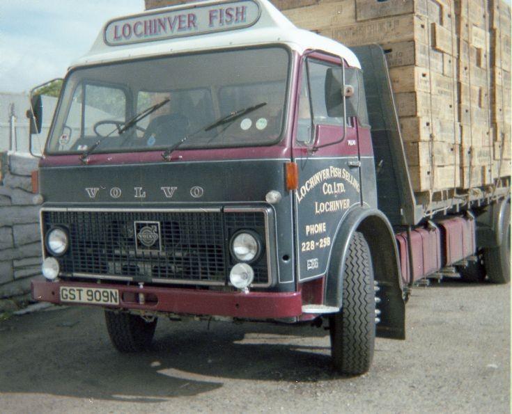 Lochinver Fish Volvo F86
