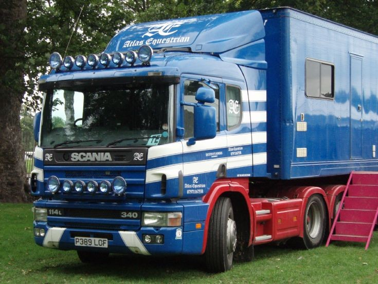 Scania 114L-340 at Perth Show (Agricultural Show & Fair)