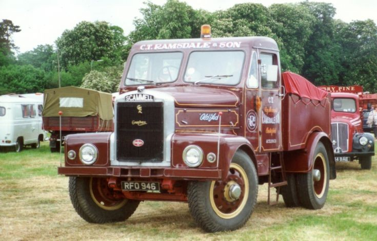 1940's Scammell ballast tractor - C. T. Ramsdale & Son