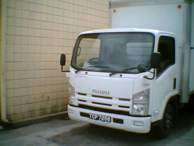 Isuzu Box Delivery Truck