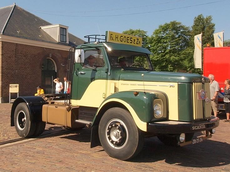 Scania Vabis T6 (1965) registration ZB-25-26 at 'Historisch Weekeind Den Helder'