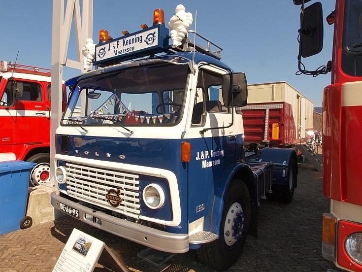 Volvo F86-34 S (1971) registration BE-66-95 at 'Historisch Weekeind Den Helder', The Netherlands