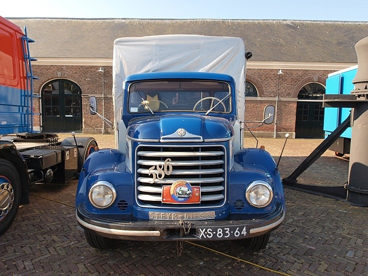 1962 Steyr 586 registration XS-83-64 at 'Historisch Weekeind Den Helder', The Netherlands