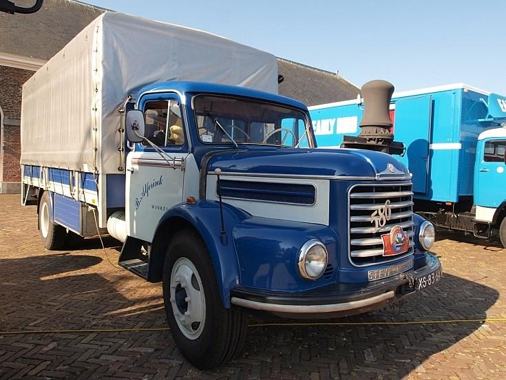 Photo of 1962 Steyr 586 registration XS-83-64 at 'Historisch Weekeind Den Helder', The Netherlands
