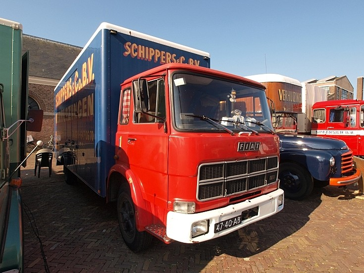 Photo of 1974 Fiat 110 NC registration 47-40-AB at 'Historisch Weekeind Den Helder', The Netherlands