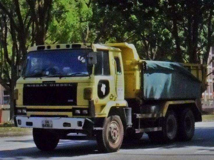 Eng Lam Contractors Co (Pte) Ltd Nissan Diesel UD CW45 Dump TruckTruck