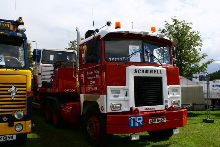 Scammel Crusader at Nordic Trophy Truck Meet in Jönköping Sweden