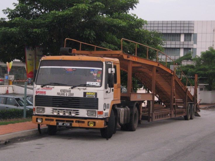 Volvo FL7 Car Carrier Petaling Jaya Malaysia