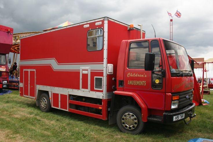 1991 Ford cargo Ex BT mobile workshop
