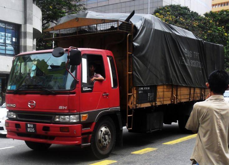 Hino Ranger GH Cargo Truck