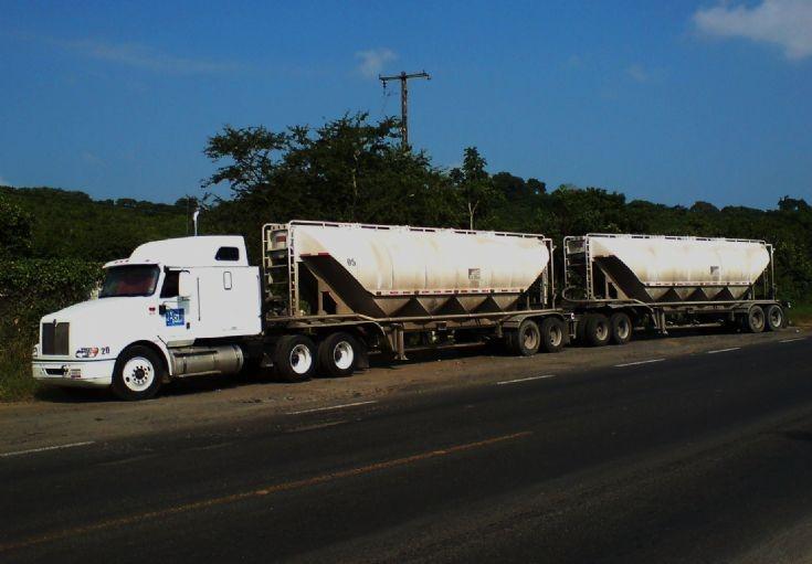 Photo of an International truck