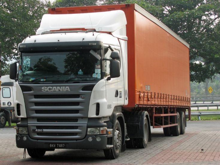 Scania R420 in Malaysia