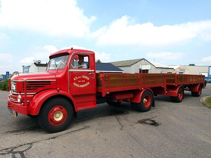 Restored 1960 Krupp truck