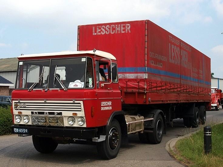 DAF FA 2600 DKA 360 (1973) in Lesscher livery